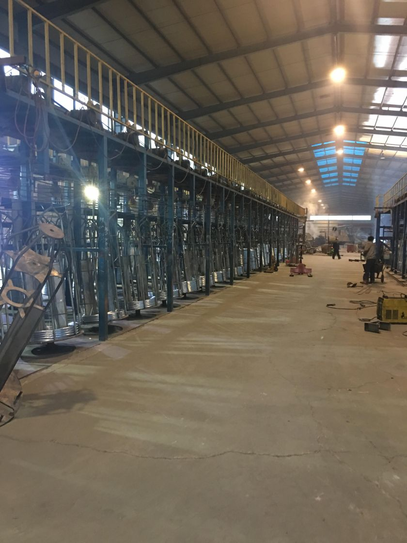 galvanising shop for wire