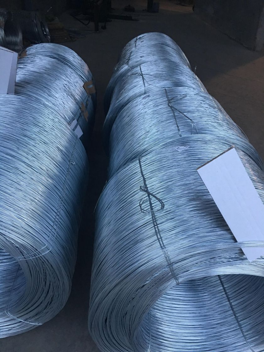 our special high tensile wire just galvanised